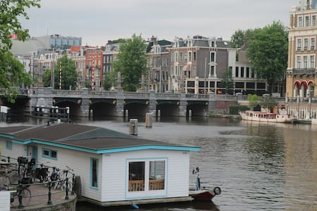 Family Houseboat in City Center - Amsterdam - Boot