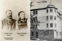 """Meine Urgrosseltern und das 1908 erbaute Haus, der sogenannte """"Postneubau"""""""