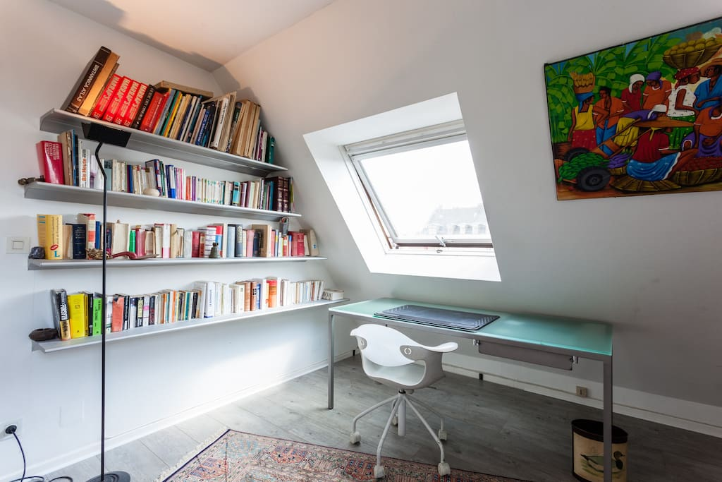 Chambre queen biblioth que terrasse chambres d 39 h tes for Chambre d hote strasbourg