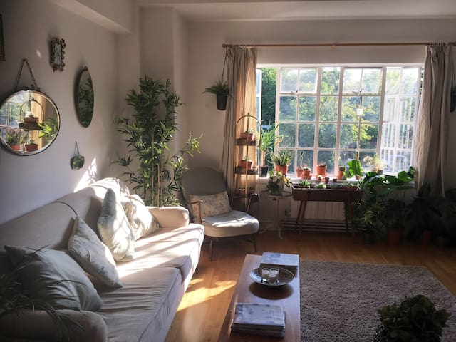 Vintage style sunny apartment