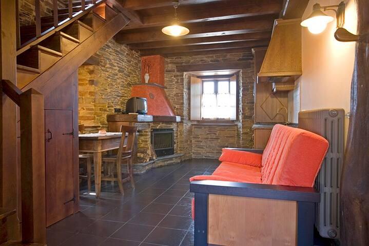 Casa Rural Balcón de Oscos, Apartamento 7 personas