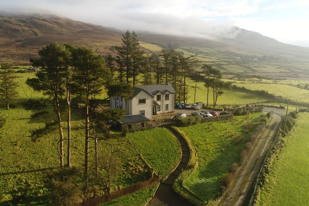 Nestled in the Cooley Mountains, close to Carlingford