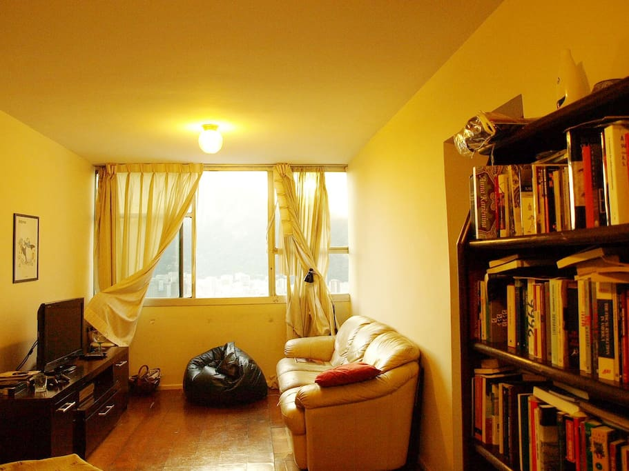 Our living room, our space to relax
