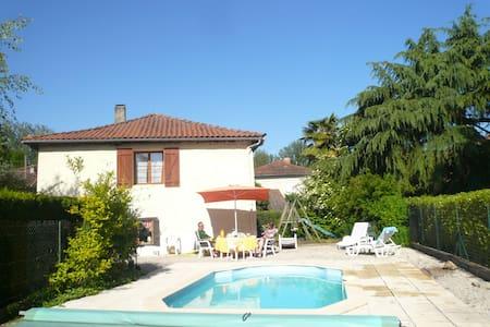 Gite rustique de charme + piscine - Soueich - Casa