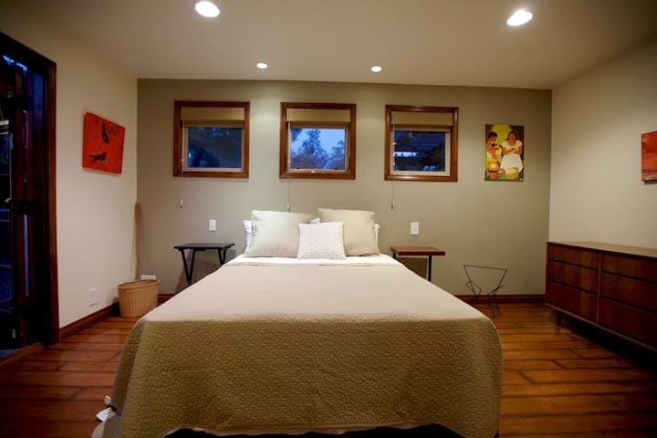 Master Suite featuring a Queen bed and private full bath