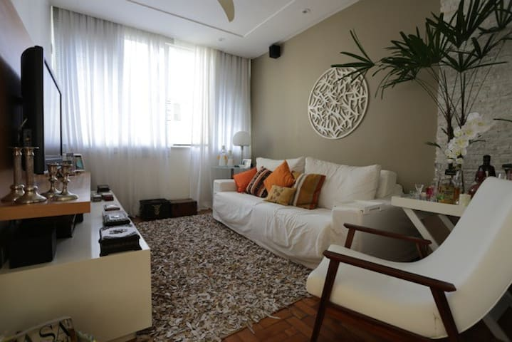 Comfortable and spacious TV room