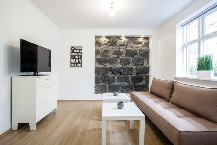 Beautiful apartment downtown RVK - Reykjavik - Huoneisto
