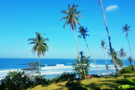 BEACHFRONT Pool Villa @ Balian Beach
