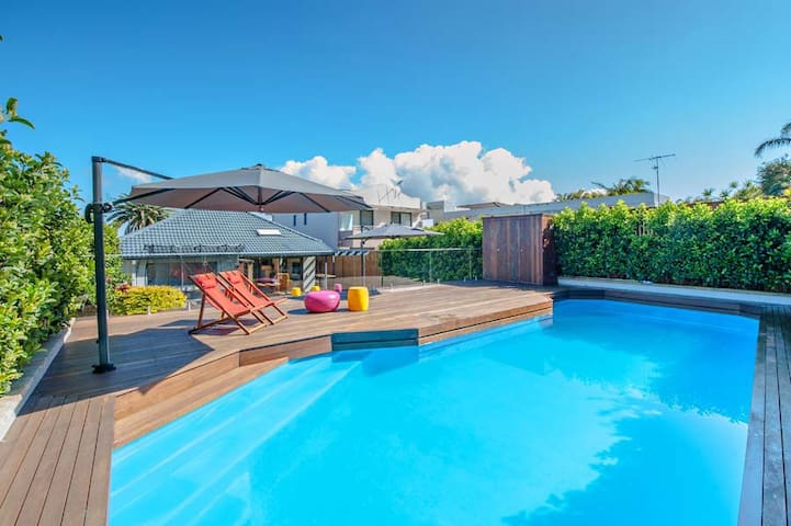 Luxurious home + pool + Sydney harbour views - Dover Heights - Talo