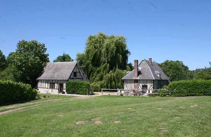 Normandy farmhouse - Saint-Julien-le-Faucon - Casa