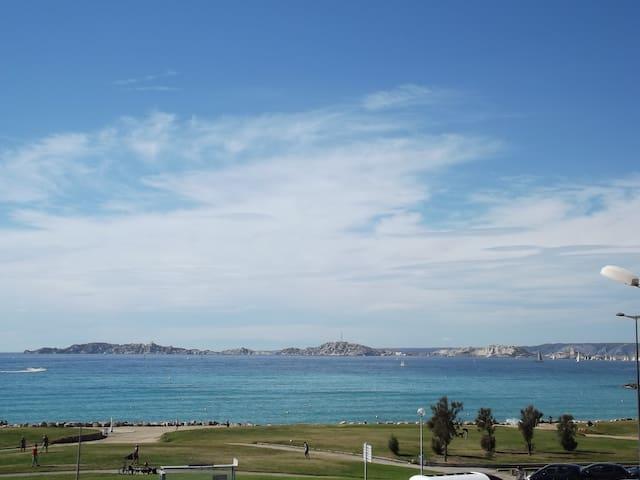 superbe vue sur la baie,face MER regate - Μασσαλία - Διαμέρισμα