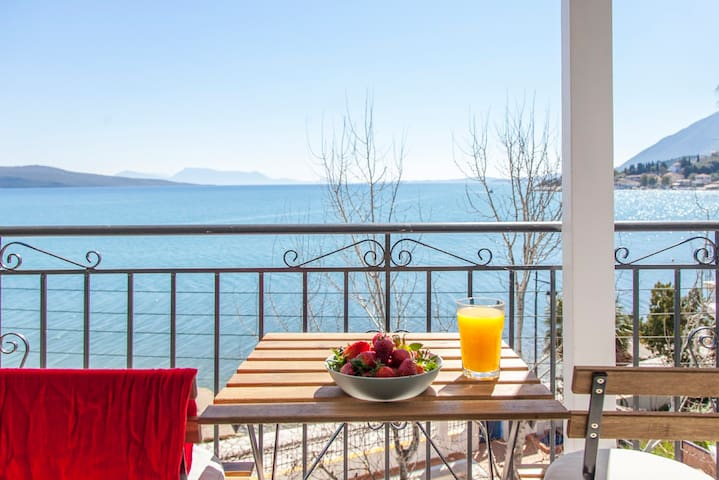 OceanFront Apartment6 With StunningViews inLefkada
