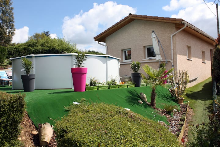 Villa avec piscine privée & billard