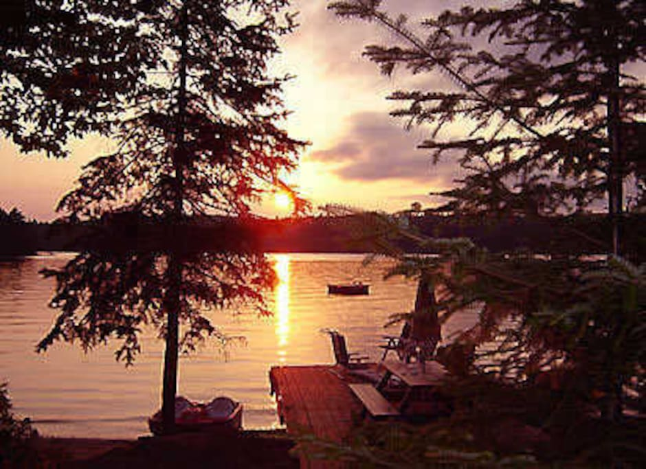 Awesome Lakeview Sunset Every Night Cabins For Rent In