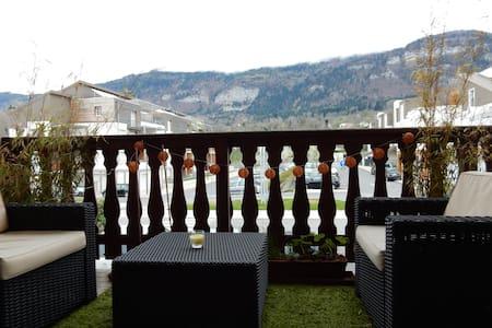Appartement T2 vue Salève sur l'axe Genève-Annecy - Beaumont - Huoneisto