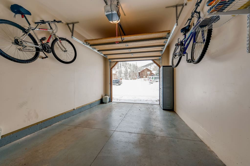 Garage access for one car