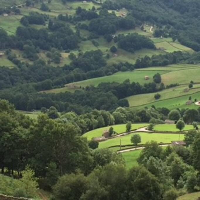 Vistas de los valles