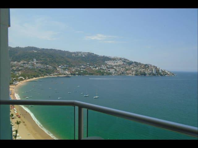 Loft en playa privada,hermosa vista - Acapulco  - Loft
