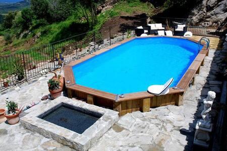 Minivilla piscine chauffee en corse - Costa
