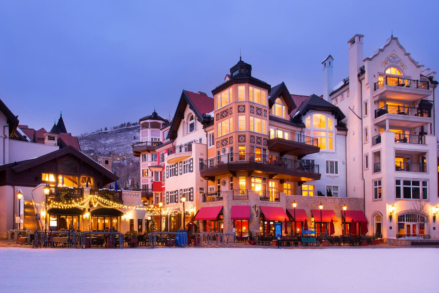 Enjoy a luxurious stay at the Arrabelle at Vail Square