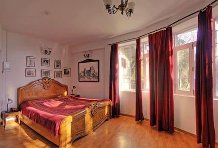 Deluxe room at residence of Maharaja of Kangra - Dharamshala - Huvila