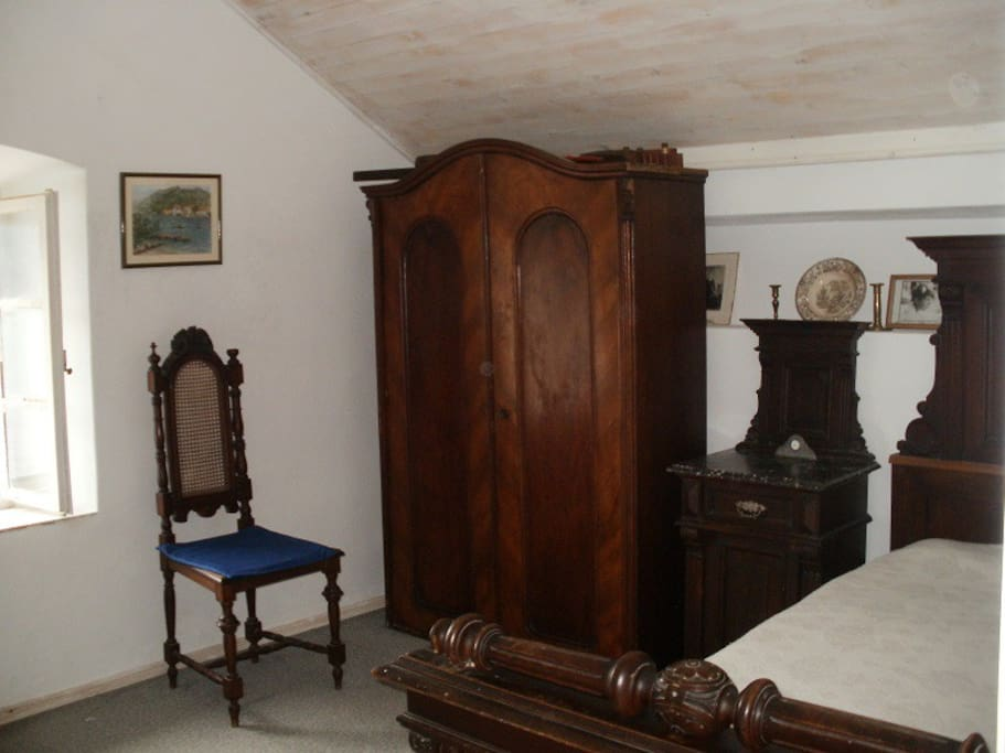 Bedroom no. 2 on the first floor