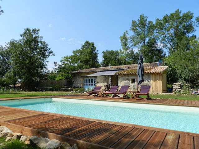 Charming house with swimming pool - St Antonin Nobele Val - Cottage