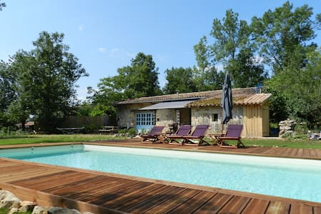 Charming house with swimming pool - St Antonin Nobele Val