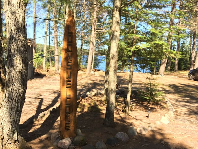 Loons Welcome: Summer Cabin / Lake View