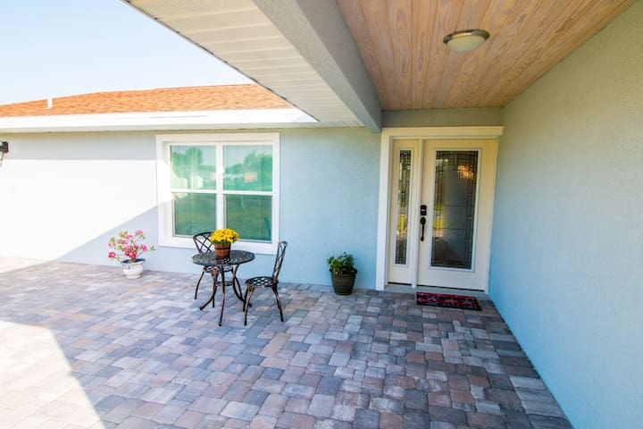Front entry and bistro set