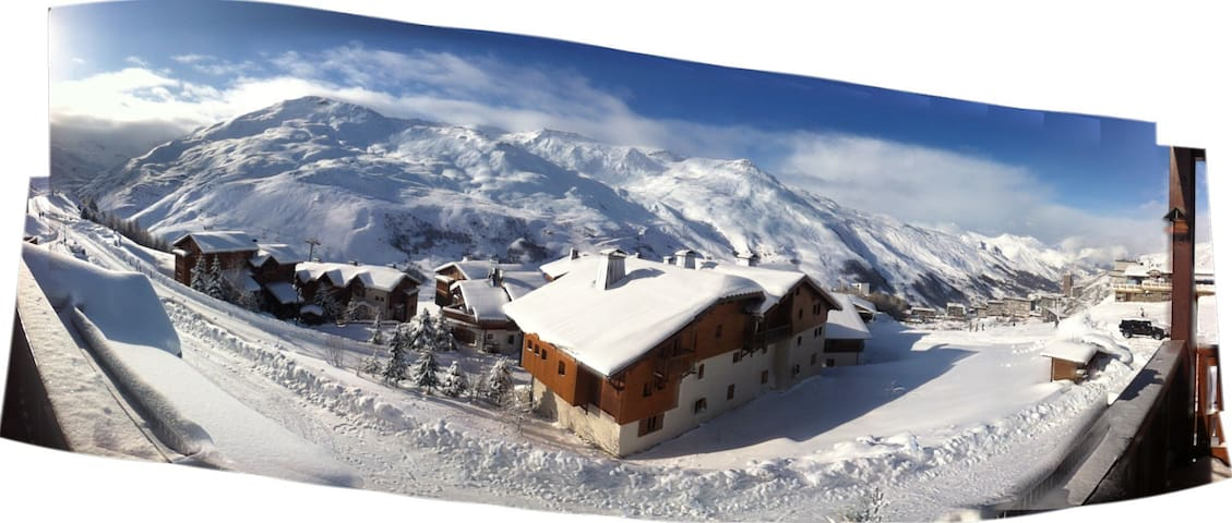 LES MENUIRES - QUIET - 3 ROOMS ON THE SLOPES - Les Menuires - Apartamento