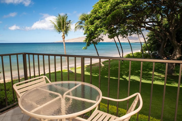 KR205-South Maui Condo with Ocean and Park Views- Tranquil Beach Front Resort