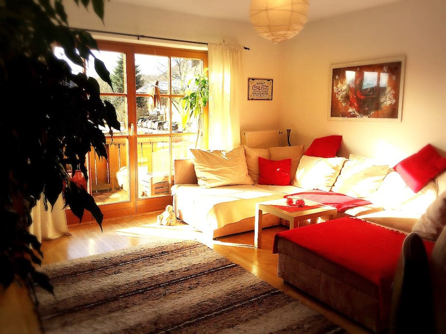 Our sunny living room