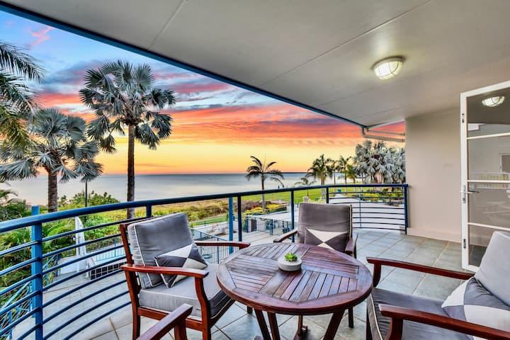 Luxury Beachfront Villa | 5★ Location, Pool, Views