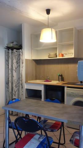 Studio idéal jeune couple - Solliès-Pont - Apartamento