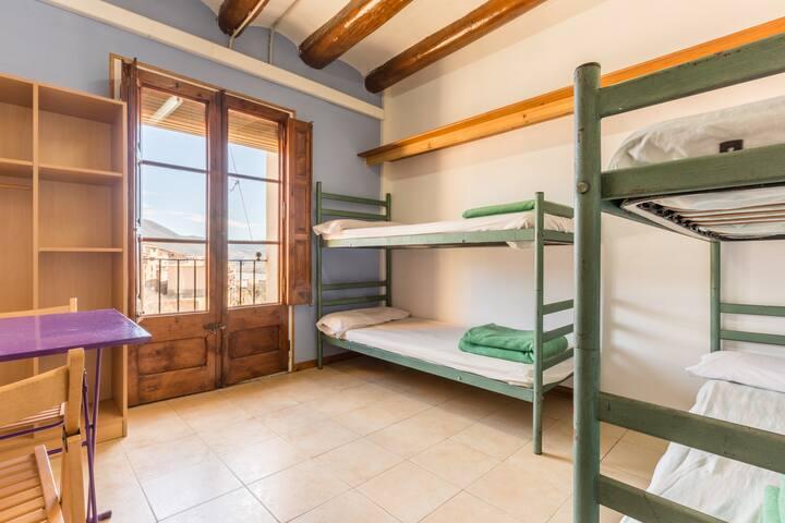 Alberg La Solana - 23 - Quadruple Room (3 - 4 Guests) - Salàs de Pallars - Lejlighed