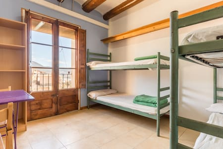 Alberg La Solana - 23 - Habitación Cuádruple (3 - 4 Plazas) - Salàs de Pallars - Apartment