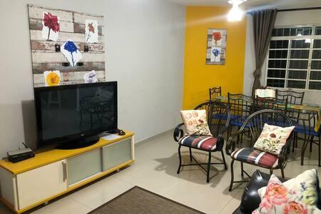 Apartamento aconchegante e seguro próx. UFMS