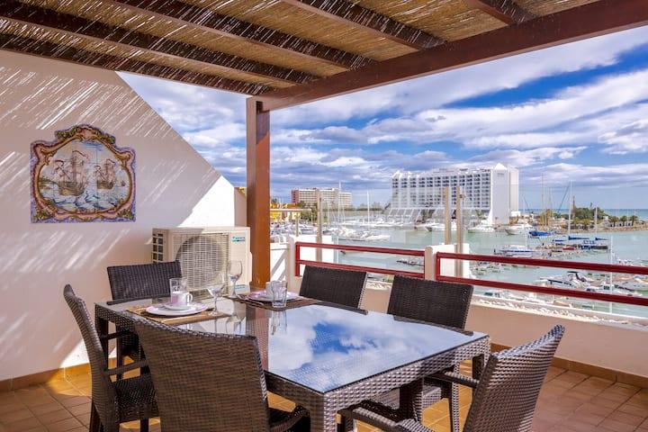 Primula - Wonderful view - Vilamoura Marina