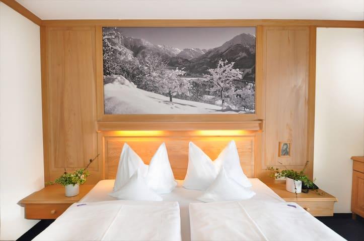 Komfortdoppelzimmer Südbalkon - Hotel Sonnenbichl