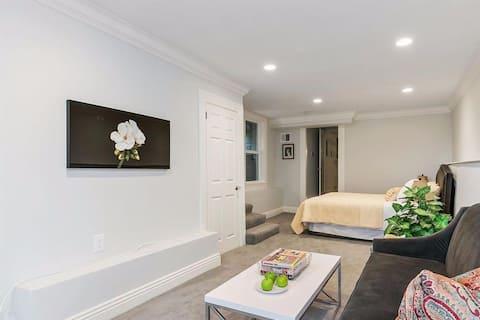 Garden level private apartment near Dolores Park