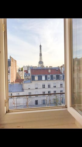 TOUR EIFFEL Cosy apartment with Eiffel Tower view