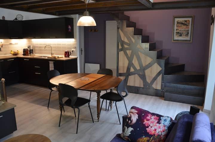 Charmant duplex tout confort - Ambiance Loft