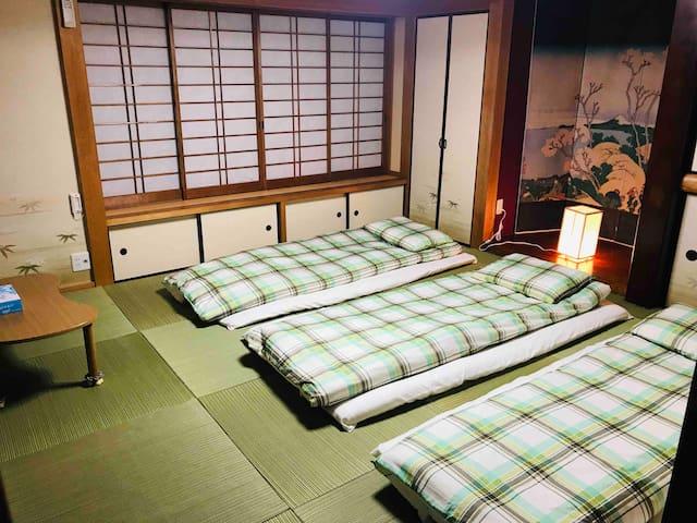 一叶轩 東京民宿 One-Leaf House 免费WiFi离车站5分钟 成田机场和羽田机场巴士直达
