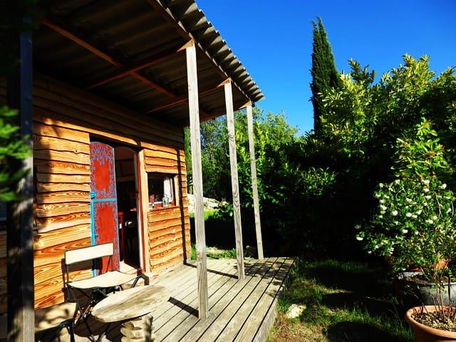 Cosy original Cabin/Caravan Provence Ventoux