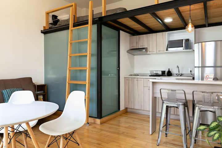 Mini Loft in Coyoacan
