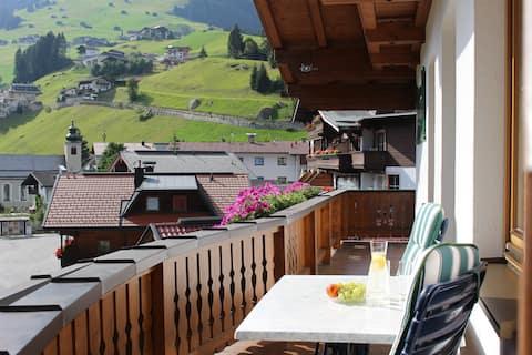 Appartement in Tux für 2-4 Personen mit Balkon