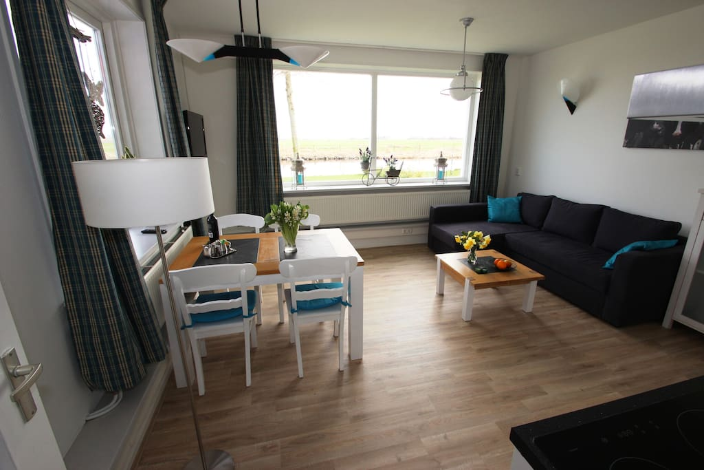 Appartement beganegrond living
