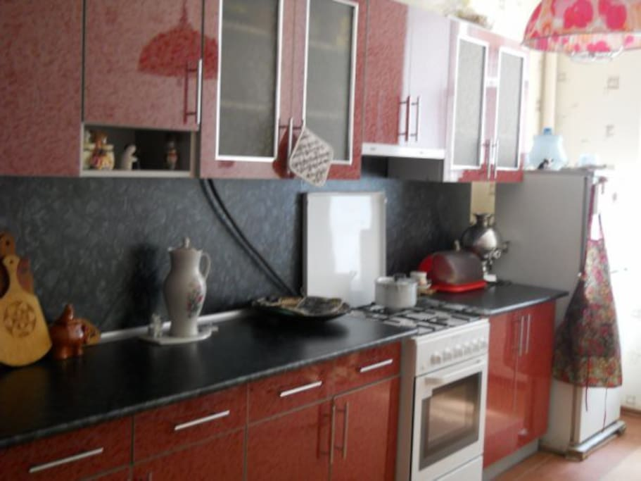 Big and cosy kitchen