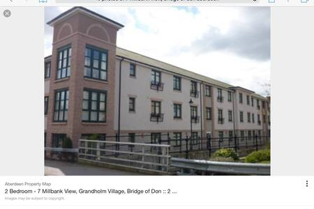 Modern 2 bedroomed flat in Aberdeen - Bridge of Don